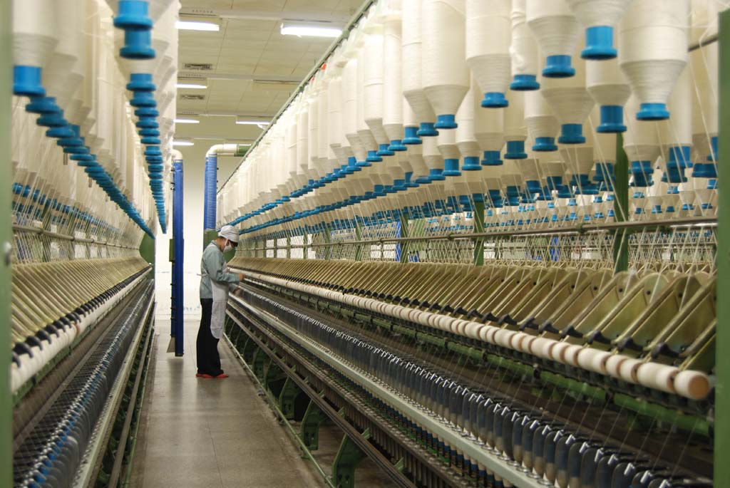 Textile and apparel industry in China